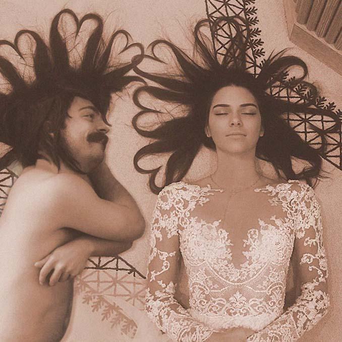 Εισβάλλει στις φωτογραφίες της Kendall Jenner με το Photoshop δίνοντας μια ξεκαρδιστική νότα (3)