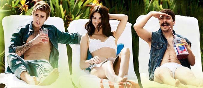 Εισβάλλει στις φωτογραφίες της Kendall Jenner με το Photoshop δίνοντας μια ξεκαρδιστική νότα (6)