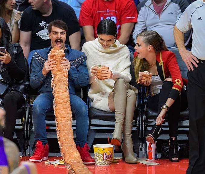 Εισβάλλει στις φωτογραφίες της Kendall Jenner με το Photoshop δίνοντας μια ξεκαρδιστική νότα (25)