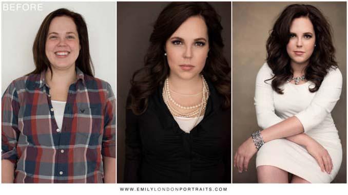Εκπληκτικές μεταμορφώσεις γυναικών σε 3 καρέ (1)
