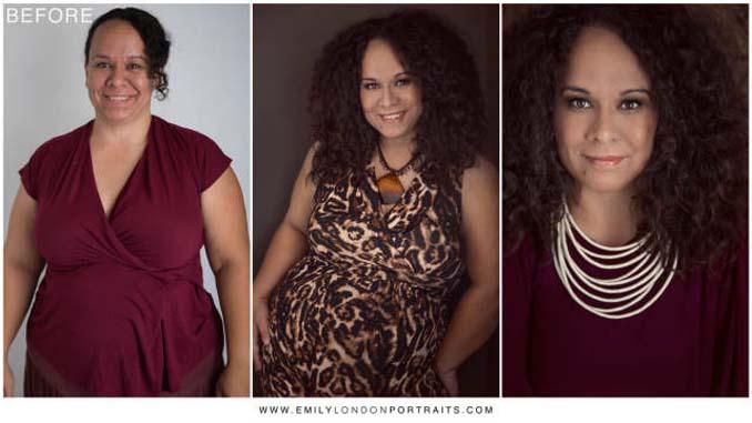Εκπληκτικές μεταμορφώσεις γυναικών σε 3 καρέ (13)