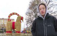 Ο εμπρησμός ως χριστουγεννιάτικη παράδοση: Η κατσίκα της πόλης Γκέφλε