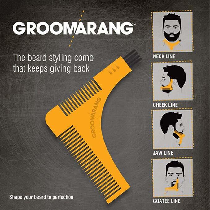 Groomarang: Η απόλυτη χτένα για όσους έχουν μούσι (4)