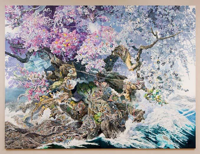 Ιάπωνας καλλιτέχνης χρειάστηκε 3,5 χρόνια για να ολοκληρώσει αυτό το έργο τέχνης (1)