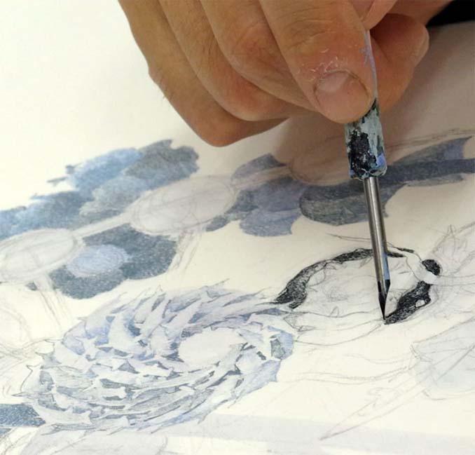 Ιάπωνας καλλιτέχνης χρειάστηκε 3,5 χρόνια για να ολοκληρώσει αυτό το έργο τέχνης (3)