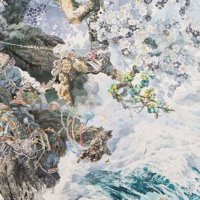 Ιάπωνας καλλιτέχνης χρειάστηκε 3,5 χρόνια για να ολοκληρώσει αυτό το έργο τέχνης (4)