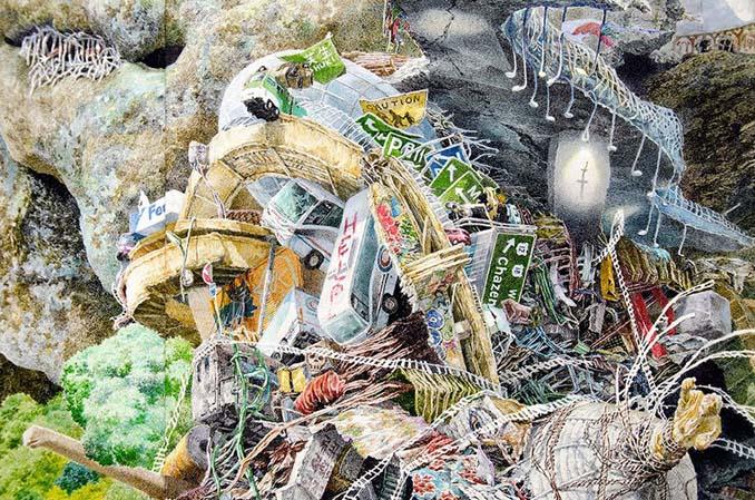 Ιάπωνας καλλιτέχνης χρειάστηκε 3,5 χρόνια για να ολοκληρώσει αυτό το έργο τέχνης (5)