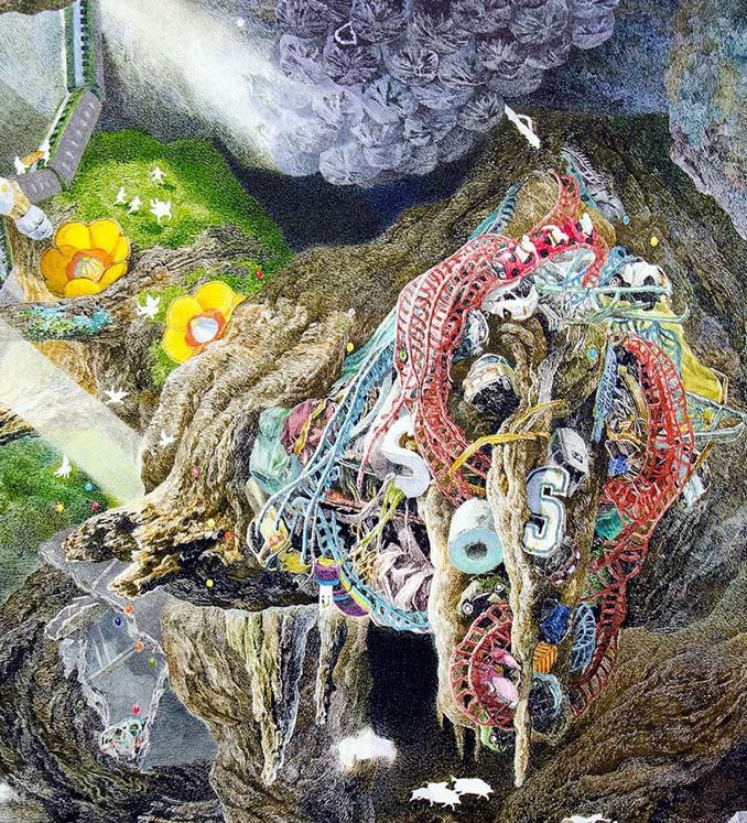Ιάπωνας καλλιτέχνης χρειάστηκε 3,5 χρόνια για να ολοκληρώσει αυτό το έργο τέχνης (7)