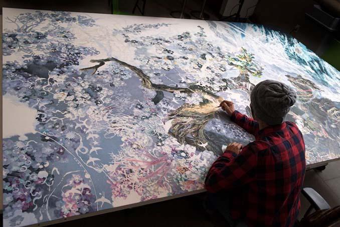 Ιάπωνας καλλιτέχνης χρειάστηκε 3,5 χρόνια για να ολοκληρώσει αυτό το έργο τέχνης (8)