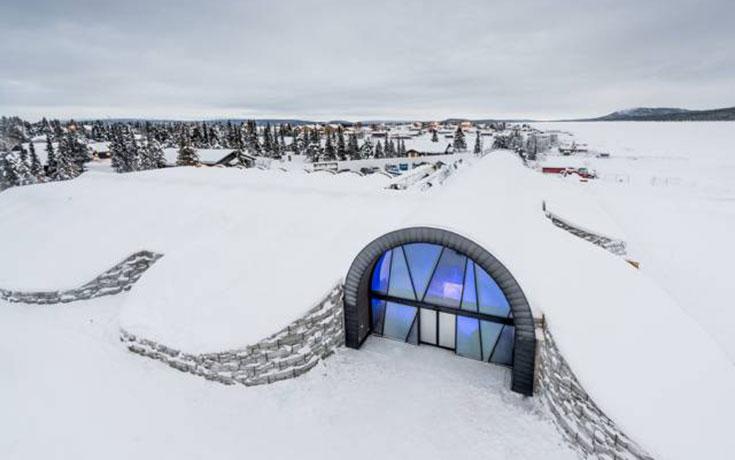 Το ξενοδοχείο από πάγο που δεν λιώνει ούτε το καλοκαίρι (1)