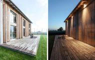 Μοναδικό σπίτι που ανακαινίστηκε από παλιό αχυρώνα στην Ιταλία (1)