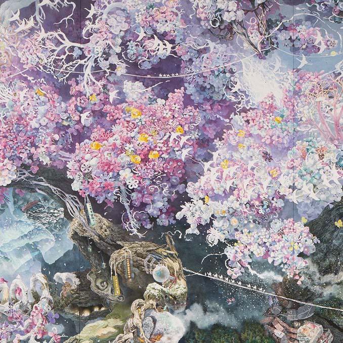 Ιάπωνας καλλιτέχνης χρειάστηκε 3,5 χρόνια για να ολοκληρώσει αυτό το έργο τέχνης (10)
