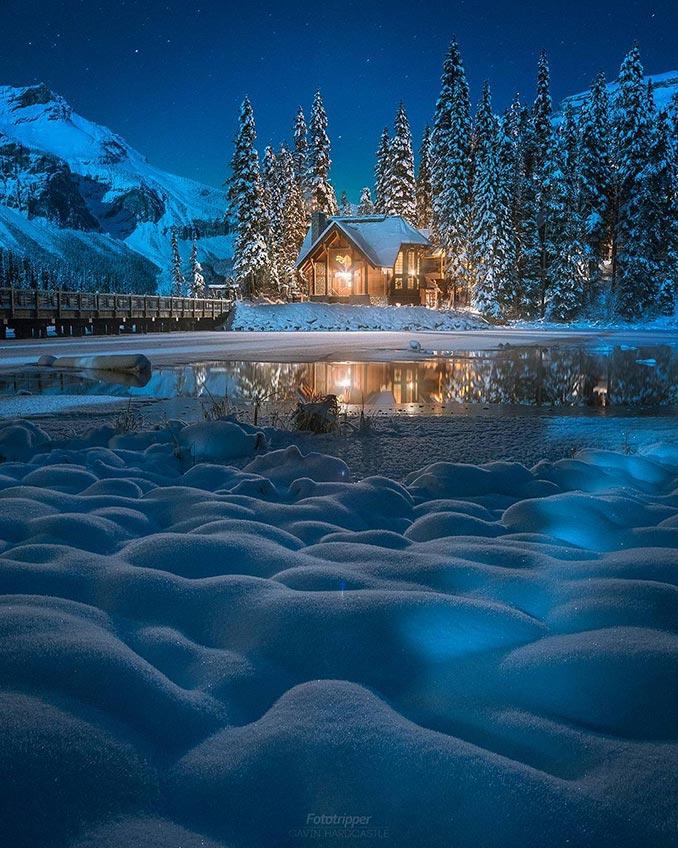 Χειμερινή απόδραση σ' ένα μέρος μαγικό | Φωτογραφία της ημέρας