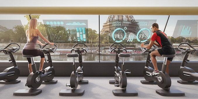 Πλωτό γυμναστήριο στο Παρίσι (2)