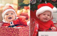 Προσδοκίες vs πραγματικότητα: Μωρά σε χριστουγεννιάτικες φωτογραφίσεις