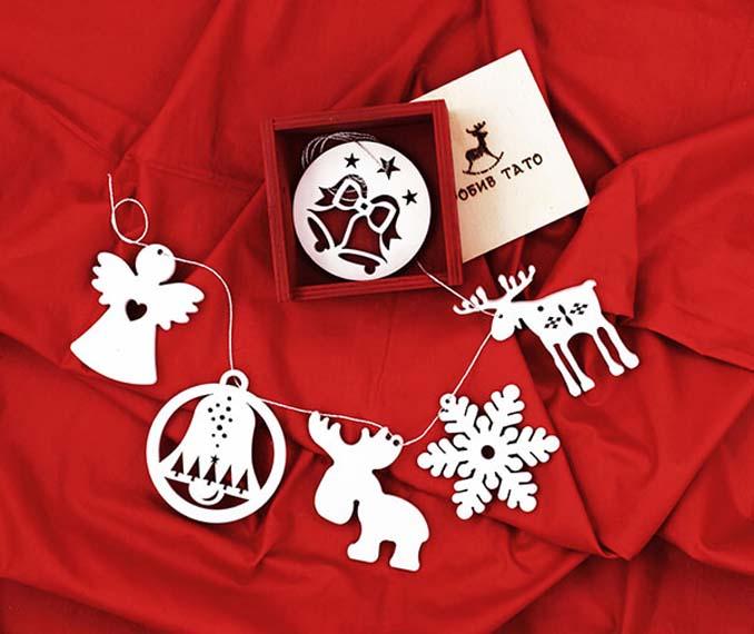 Πρωτότυπα και δημιουργικά στολίδια για μια διαφορετική πινελιά στο χριστουγεννιάτικο δέντρο (12)
