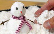 Πως να φτιάξετε ψεύτικο χιόνι