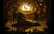 Καλλιτέχνης απαθανατίζει σκηνές βγαλμένες από όνειρα χρησιμοποιώντας μόνο χαρτί και φωτισμό (1)