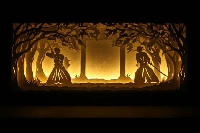 Καλλιτέχνης απαθανατίζει σκηνές βγαλμένες από όνειρα χρησιμοποιώντας μόνο χαρτί και φωτισμό (3)