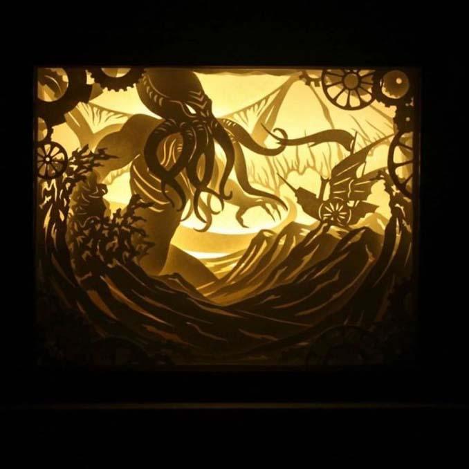 Καλλιτέχνης απαθανατίζει σκηνές βγαλμένες από όνειρα χρησιμοποιώντας μόνο χαρτί και φωτισμό (4)