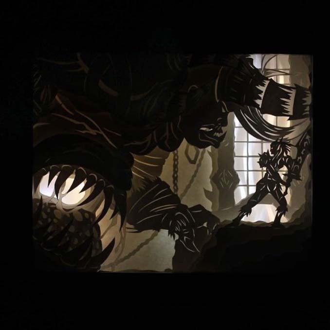 Καλλιτέχνης απαθανατίζει σκηνές βγαλμένες από όνειρα χρησιμοποιώντας μόνο χαρτί και φωτισμό (5)