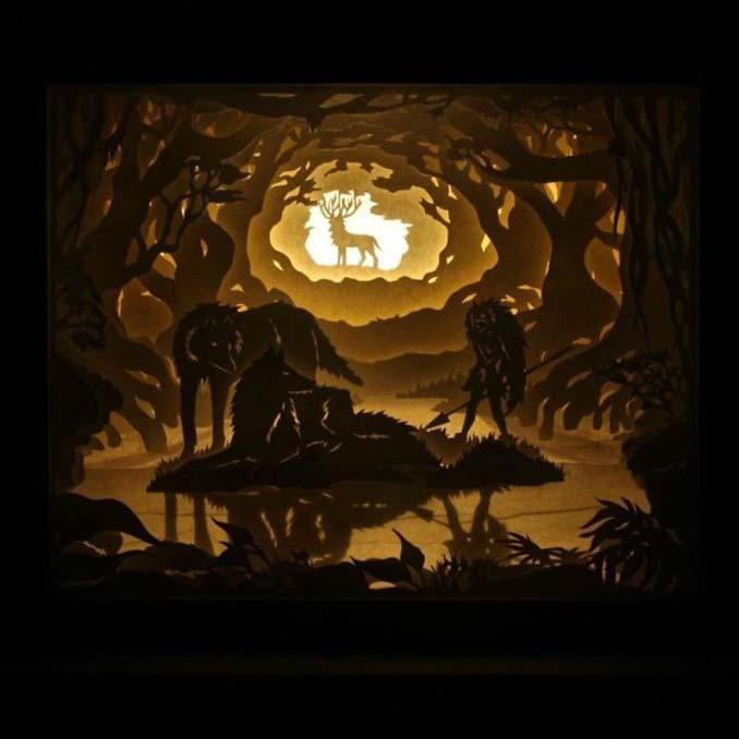Καλλιτέχνης απαθανατίζει σκηνές βγαλμένες από όνειρα χρησιμοποιώντας μόνο χαρτί και φωτισμό (8)