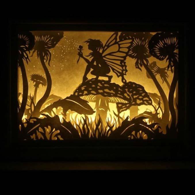 Καλλιτέχνης απαθανατίζει σκηνές βγαλμένες από όνειρα χρησιμοποιώντας μόνο χαρτί και φωτισμό (9)