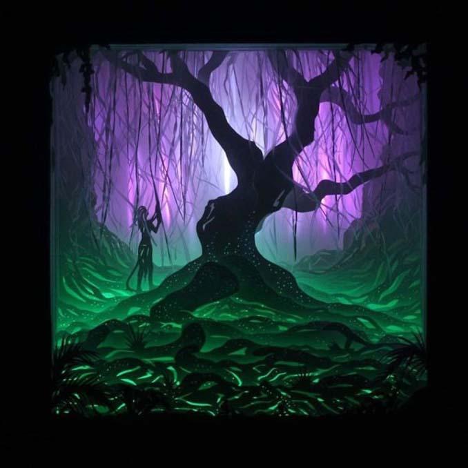Καλλιτέχνης απαθανατίζει σκηνές βγαλμένες από όνειρα χρησιμοποιώντας μόνο χαρτί και φωτισμό (11)