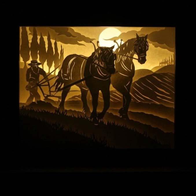Καλλιτέχνης απαθανατίζει σκηνές βγαλμένες από όνειρα χρησιμοποιώντας μόνο χαρτί και φωτισμό (13)