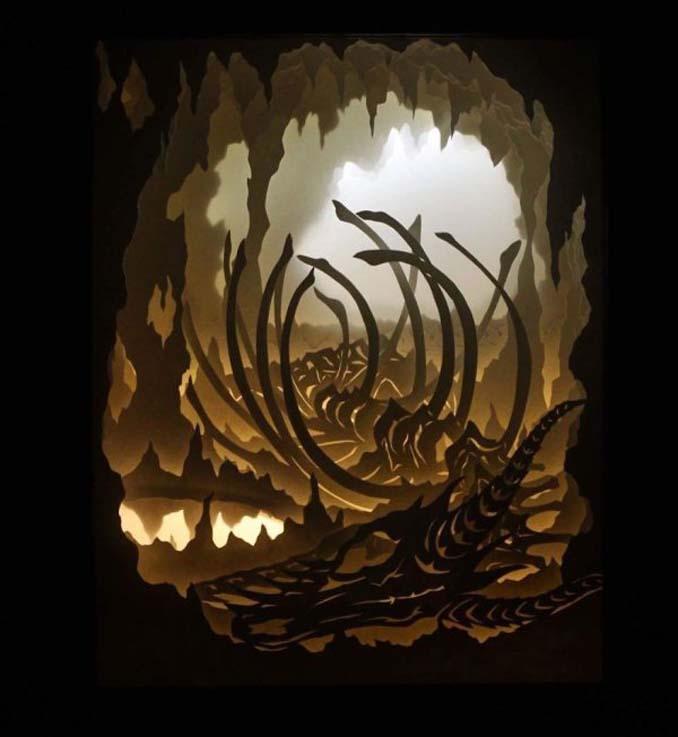 Καλλιτέχνης απαθανατίζει σκηνές βγαλμένες από όνειρα χρησιμοποιώντας μόνο χαρτί και φωτισμό (14)