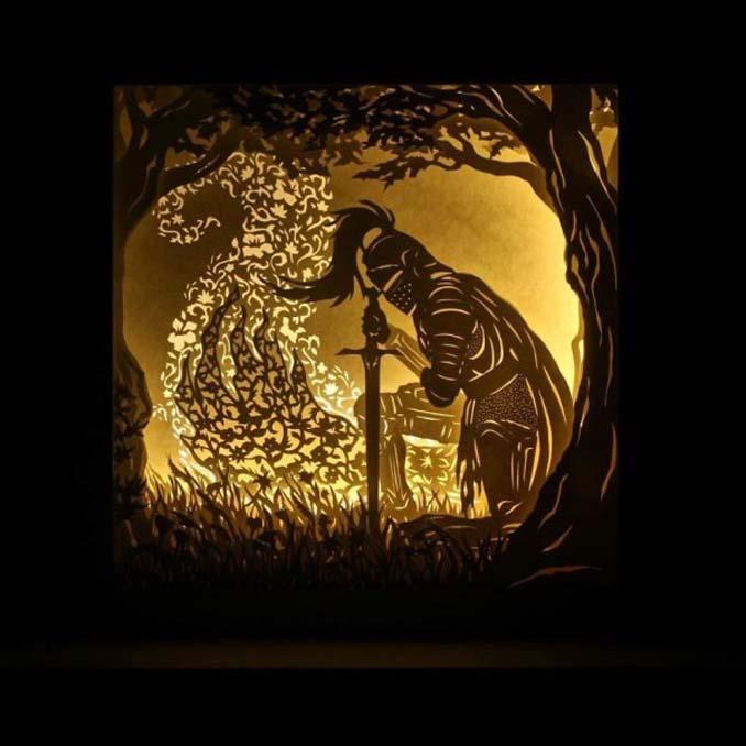 Καλλιτέχνης απαθανατίζει σκηνές βγαλμένες από όνειρα χρησιμοποιώντας μόνο χαρτί και φωτισμό (16)