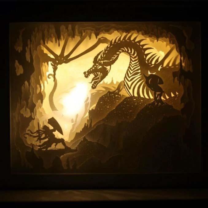 Καλλιτέχνης απαθανατίζει σκηνές βγαλμένες από όνειρα χρησιμοποιώντας μόνο χαρτί και φωτισμό (17)