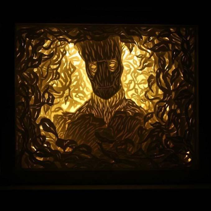 Καλλιτέχνης απαθανατίζει σκηνές βγαλμένες από όνειρα χρησιμοποιώντας μόνο χαρτί και φωτισμό (18)