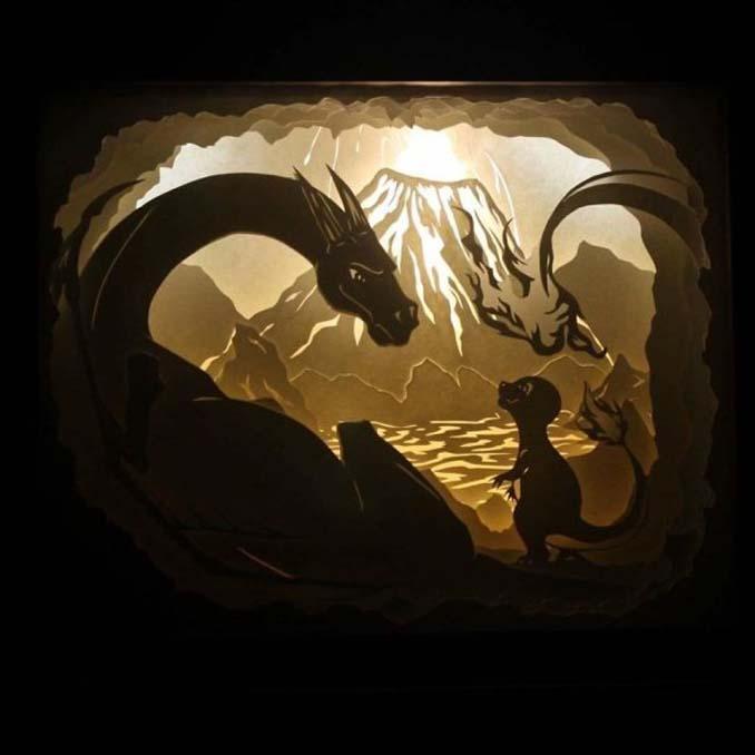 Καλλιτέχνης απαθανατίζει σκηνές βγαλμένες από όνειρα χρησιμοποιώντας μόνο χαρτί και φωτισμό (21)