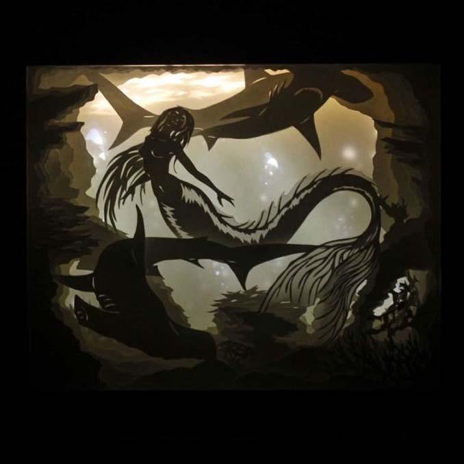 Καλλιτέχνης απαθανατίζει σκηνές βγαλμένες από όνειρα χρησιμοποιώντας μόνο χαρτί και φωτισμό (22)