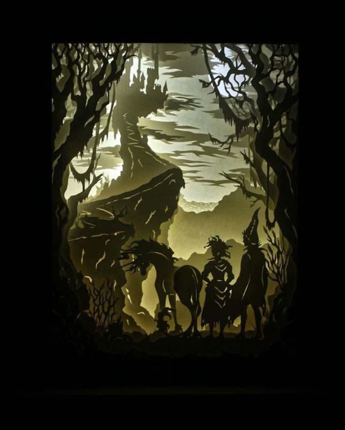 Καλλιτέχνης απαθανατίζει σκηνές βγαλμένες από όνειρα χρησιμοποιώντας μόνο χαρτί και φωτισμό (23)