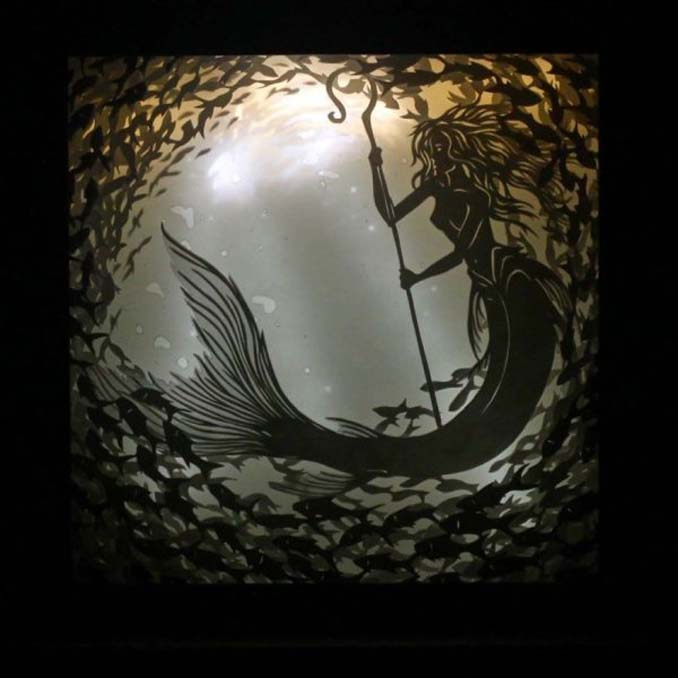 Καλλιτέχνης απαθανατίζει σκηνές βγαλμένες από όνειρα χρησιμοποιώντας μόνο χαρτί και φωτισμό (24)