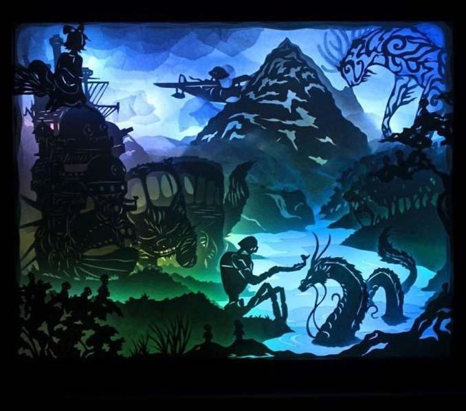Καλλιτέχνης απαθανατίζει σκηνές βγαλμένες από όνειρα χρησιμοποιώντας μόνο χαρτί και φωτισμό (25)