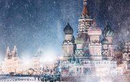 Η χειμωνιάτικη Μόσχα μοιάζει βγαλμένη από παραμύθι (1)
