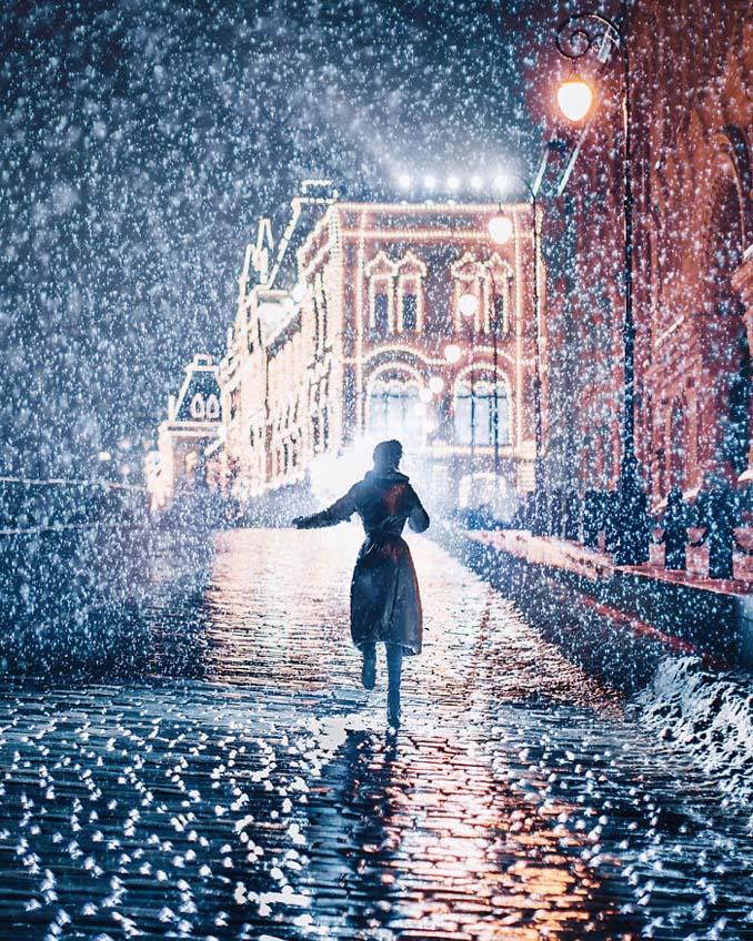 Η χειμωνιάτικη Μόσχα μοιάζει βγαλμένη από παραμύθι (2)
