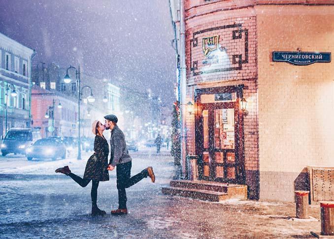 Η χειμωνιάτικη Μόσχα μοιάζει βγαλμένη από παραμύθι (3)