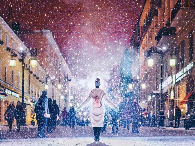Η χειμωνιάτικη Μόσχα μοιάζει βγαλμένη από παραμύθι (4)