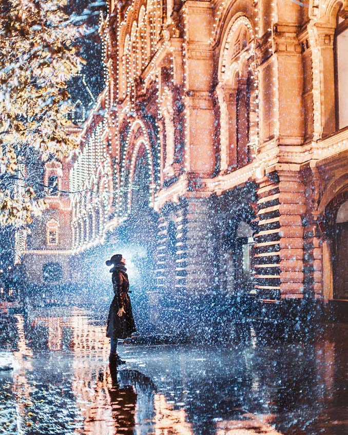 Η χειμωνιάτικη Μόσχα μοιάζει βγαλμένη από παραμύθι (5)