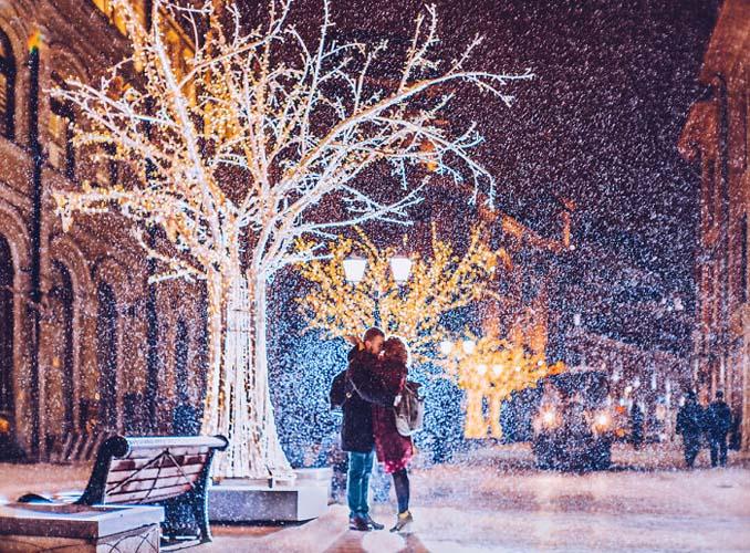 Η χειμωνιάτικη Μόσχα μοιάζει βγαλμένη από παραμύθι (7)