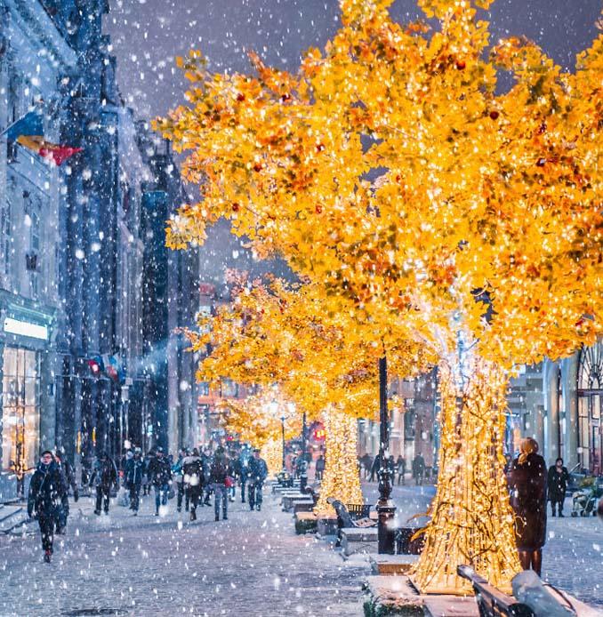 Η χειμωνιάτικη Μόσχα μοιάζει βγαλμένη από παραμύθι (9)