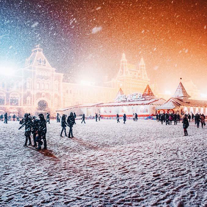 Η χειμωνιάτικη Μόσχα μοιάζει βγαλμένη από παραμύθι (10)