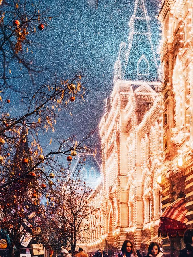 Η χειμωνιάτικη Μόσχα μοιάζει βγαλμένη από παραμύθι (11)