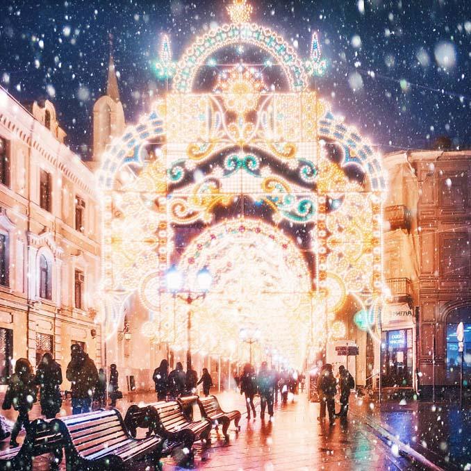 Η χειμωνιάτικη Μόσχα μοιάζει βγαλμένη από παραμύθι (13)