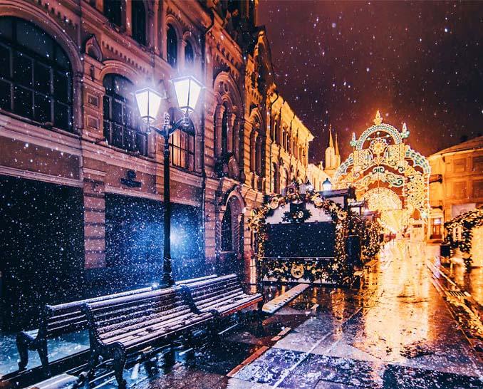 Η χειμωνιάτικη Μόσχα μοιάζει βγαλμένη από παραμύθι (14)