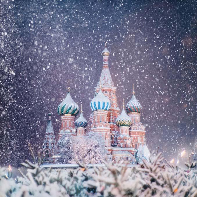 Η χειμωνιάτικη Μόσχα μοιάζει βγαλμένη από παραμύθι (16)